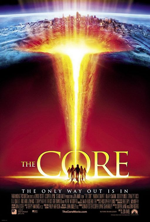 Poster del film The core