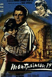 Les Amants de Montparnasse (Montparnasse 19) (The Lovers of Montparnasse) (Heroes in White) (1958)