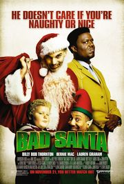 Bad Santa Poster