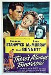 There&#039;s Always Tomorrow Poster