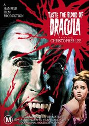 Taste the Blood of Dracula Poster