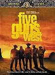 Five Guns West poster