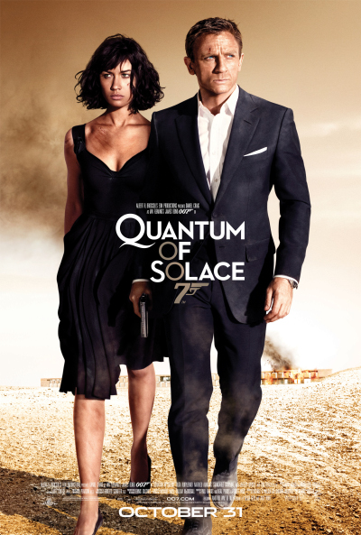 Poster del film 007 Quantum of Solace