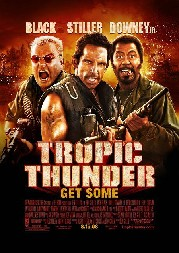 Tropic Thunder Poster