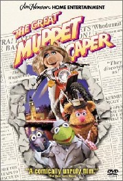The Great Muppet Caper movie 1981 poster
