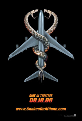 Poster del film Snakes on a plane