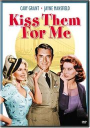 Kiss Them for Me poster Cary Grant Comm. Andy Crewson