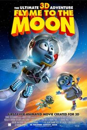 Fly Me to the Moon 3D Poster