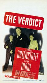 The Verdict Poster