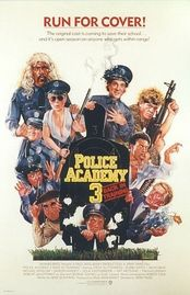 Police Academy 3 - Back in Training poster