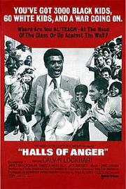 Halls of Anger Poster