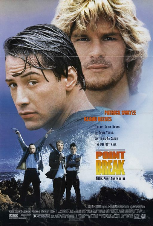 Poster del film Point break - Punto di rottura