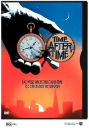 Time After Time poster Malcolm McDowell Herbert G. Wells