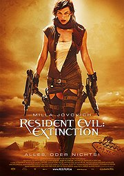 Resident Evil: Extinction Poster