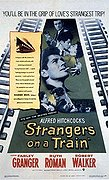 Strangers on a Train poster & wallpaper