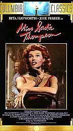 Miss Sadie Thompson Poster