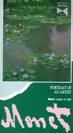 Portrait of an Artist - Monet - Legacy of Light