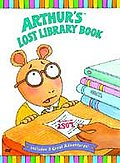 Arthur - Arthur's Lost Library Book