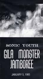 Sonic Youth - Gila Monster Jamboree