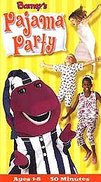 Barney's Pajama Party
