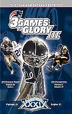 new england patriots 3 games to glory dvd