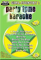 Party Tyme Karaoke - Girl Country 1