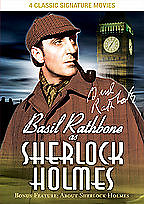 Basil Rathbone as Sherlock Holmes