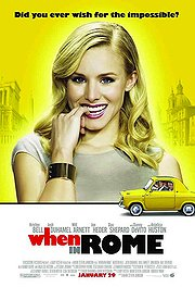 When in Rome poster Kristen Bell Beth