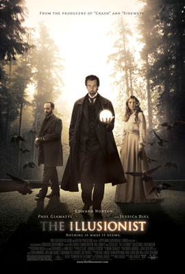 Poster del film The Illusionist