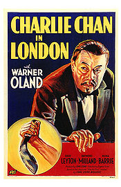 Charlie Chan in London Poster
