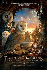 Legend of the Guardians: The Owls of Ga&#039;Hoole Poster