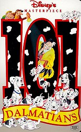 101 Dalmatians Poster
