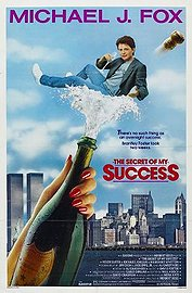 The Secret of My Success Poster