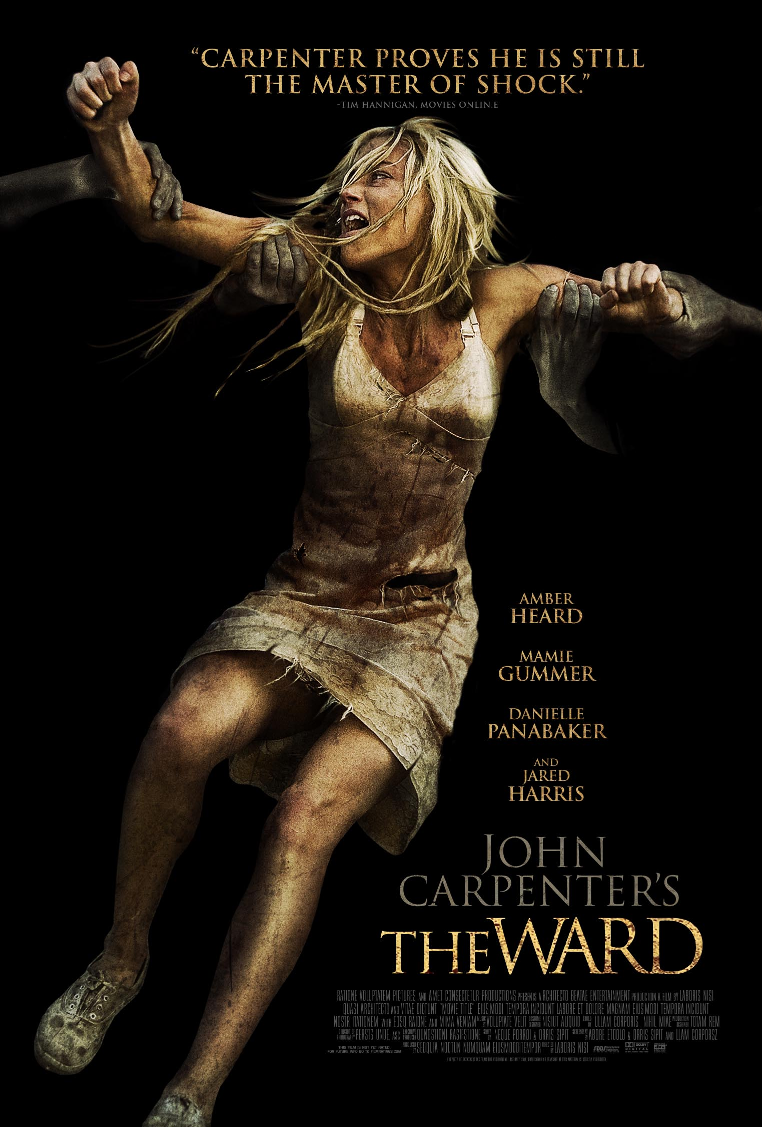 Poster del film The Ward - Il Reparto