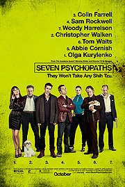 Seven Psychopaths Poster