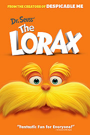 Dr Seuss' The Lorax poster
