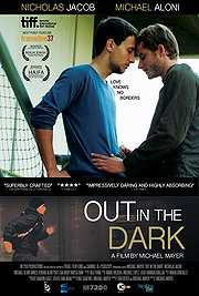 Out in the Dark poster Michael Aloni Roy Schaefer