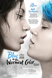 Blue Is The Warmest Color movie 2013 poster
