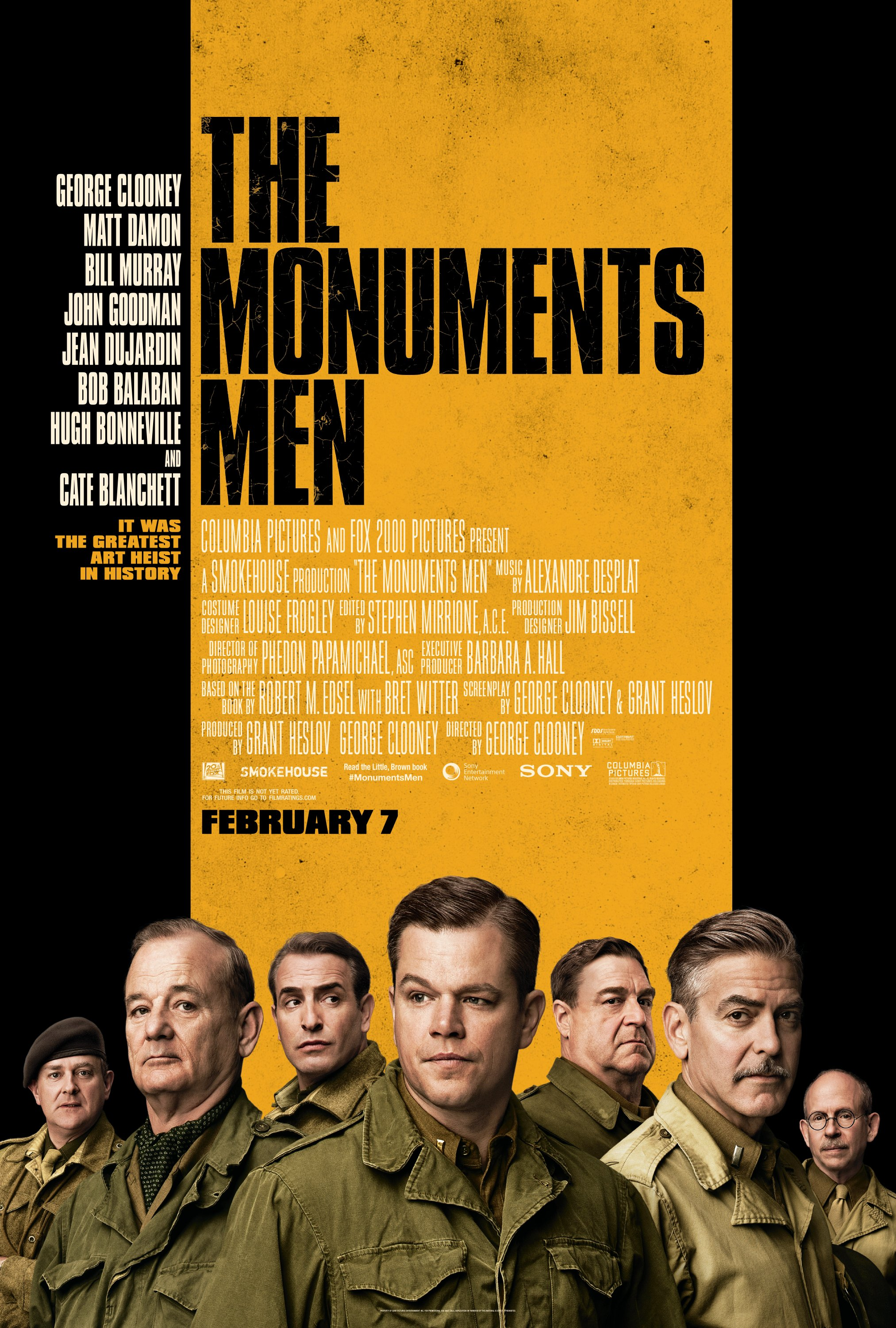 THE MONUMENTS MEN (PG-13)