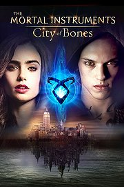 The Mortal Instruments: City of Bones poster Lily Collins Clary