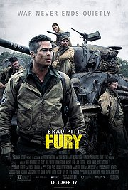 Fury (2014) New in Theaters | War * Brad Pitt