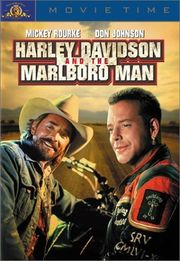 Harley Davidson and the Marlboro Man Poster