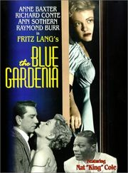 The Blue Gardenia