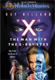 X: The Man with the X-Ray Eyes Poster