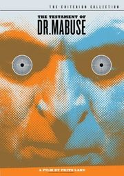 The Testament of Dr. Mabuse Poster