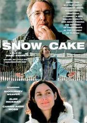 Snow Cake Poster
