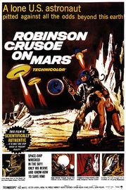 Robinson Crusoe on Mars Poster