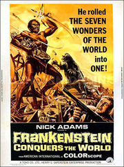 Furankenshutain tai chitei kaij Baragon (Frankenstein Conquers the World)