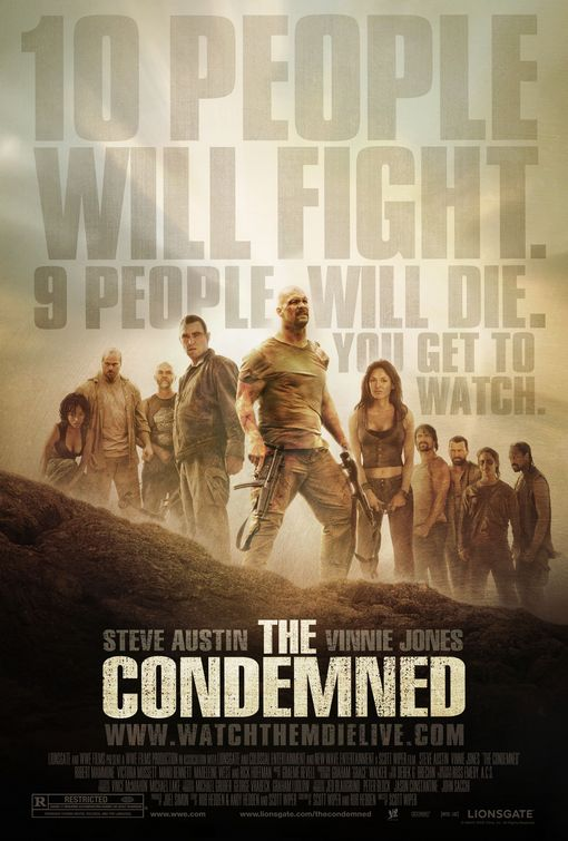 Poster del film The Condemned