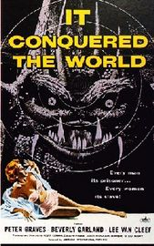It Conquered the World Poster